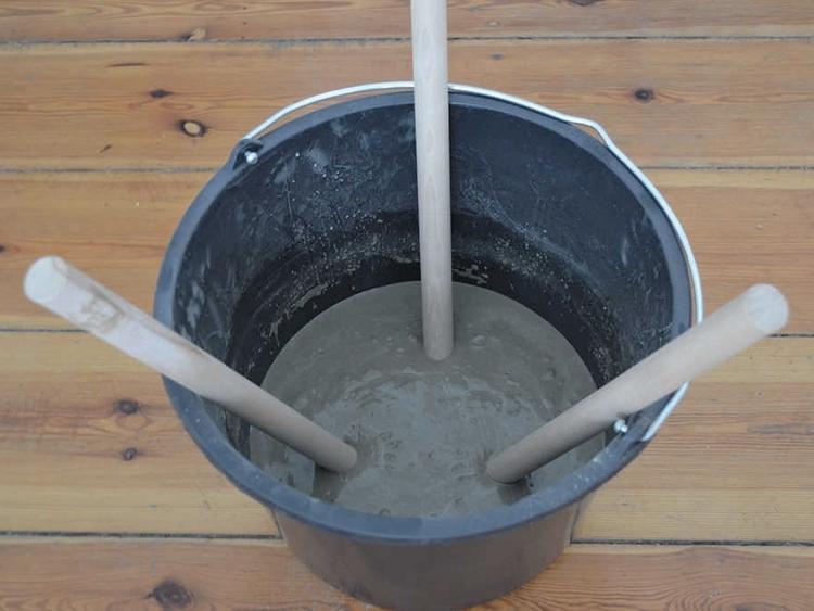 Sgabello in cemento fai da te il mondo di megh