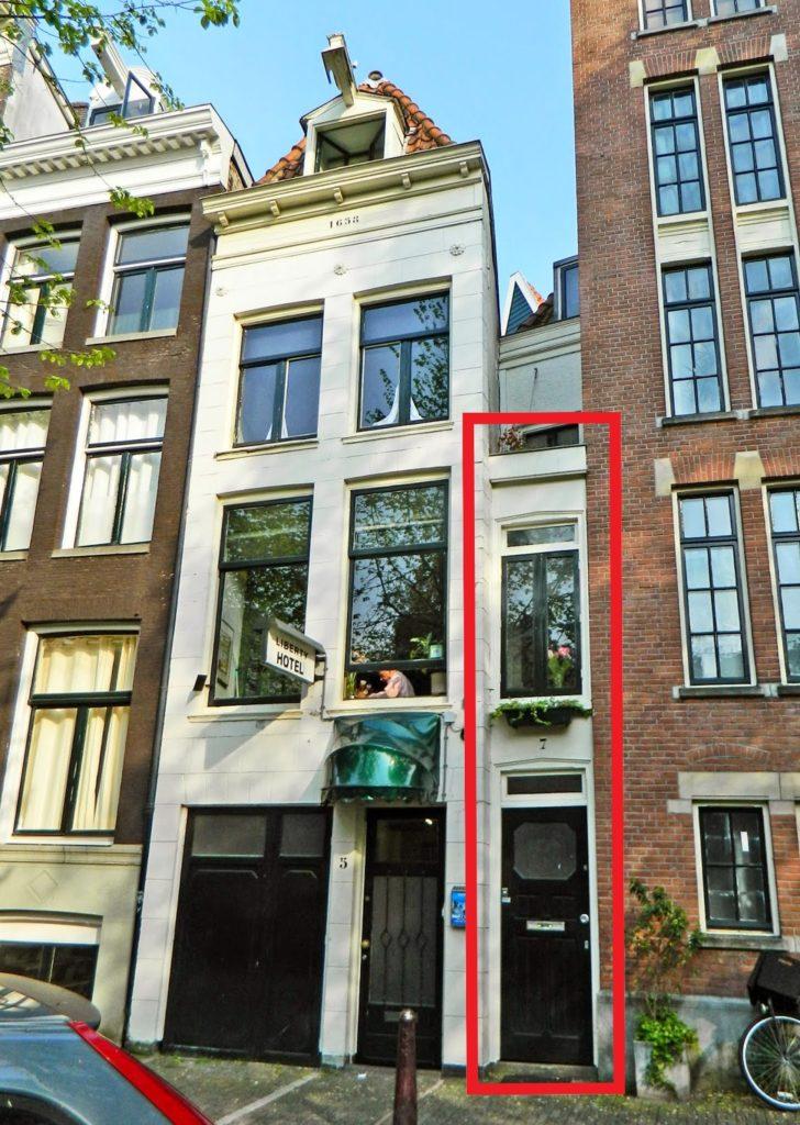 la casa più stretta di Amsterdam
